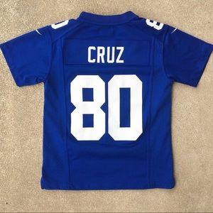 Nike NY Giants Victor Cruz No. 80 Youth Jersey
